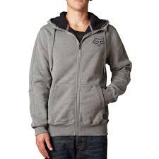 fox motocross hoodies fox racing men u0027s kounter sherpa zip up fleece hoodie vulcinity