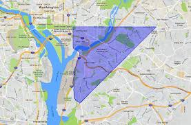 Columbia Zip Code Map by Se Washington Dc A Map And Neighborhood Guide