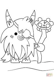 moshi monsters big bad bill coloring page free printable