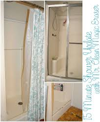 How To Clean Shower Door Tracks Luxurious New Track Shower Doors Might Also Minute Shower Update