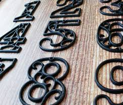 20 best house numbers images on house numbers metal
