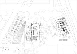 dc towers i dominique perrault architecture archdaily floor plan