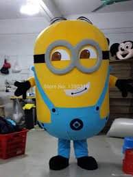 despicable me halloween costumes online shop on sale happy new despicable me minion mascot costume