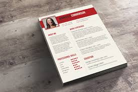 Bold Resume Template by A Creative Cv And Cover Letter Set Spicy