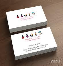 Makeup Business Cards Designs Makeup Business Diomioprint