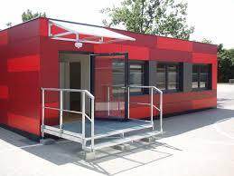 bureau container conteneur tertiaire pour bureau pour école baucon baumhöfer