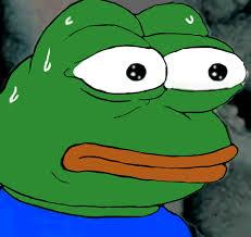 Meme Pepe - sweaty pepe frogs