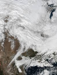 United States Storm Map by Nasa Provides A Look At Post Blizzard Snowfall And Winds Nasa