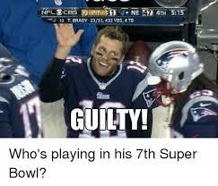 Super Bowl Meme - nfl ocbs pit ne 42 4th 515 12 t brady 2333432 yds 4 td guilty
