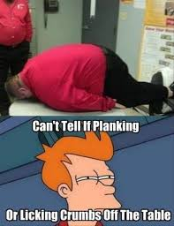 Fry Meme - a not sure if meme planking dump a day