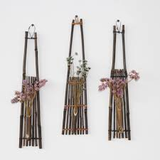online get cheap wall vases aliexpress com alibaba group bamboo hanging vase for flowers pots stands wedding decoration home decor outdoor wall vase ornaments for
