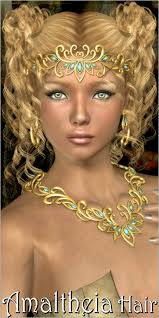 3dream by Amaltheia Hair 3d Figure Assets 3dream