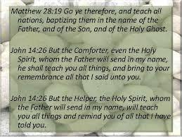 Holy Spirit My Comforter Foundation Stone 05 Holy Spirit Baptism