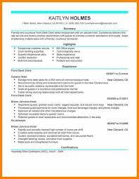 Hotel Front Desk Supervisor Job Description Front Desk Resume Lukex Co