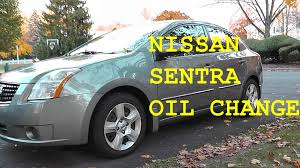 sentra nissan 2012 nissan sentra oil change with basic hand tools hd youtube