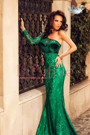 atmosphere rochii rochie de seara lunga dantela verde
