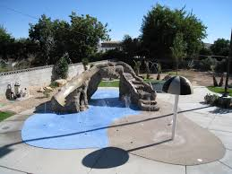 rain deck splash pads splash parks gardens u0026 backyard spaces