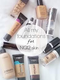 my nc42 foundations