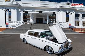 roll royce rod slammed 1965 rolls royce silver shadow street machine