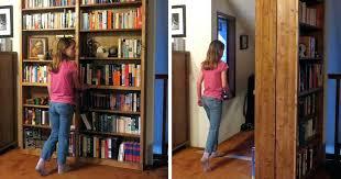 bookcase hidden door bookshelf hardware hidden door bookcase diy