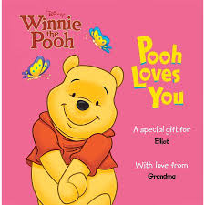 personalized book disney s pooh you walmart