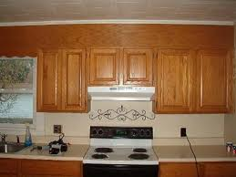 soffit above kitchen cabinets kitchen decoration
