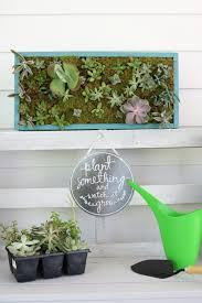 Diy Vertical Herb Garden Vertical Succulent Garden Refresh Restyle