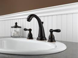 delta windemere b3596lf ob two handle widespread bathroom faucet