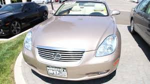 lexus sc430 for sale california 2005 lexus sc 430 walk around magnussen u0027s lexus of fremont youtube