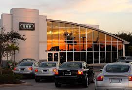 audi dealership exterior audi volkswagen dealership service center and sales canopy