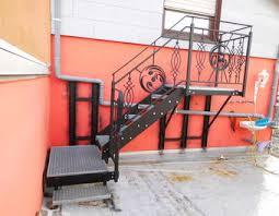 stahl treppe stahltreppe geländer bauanleitung zum selber bauen