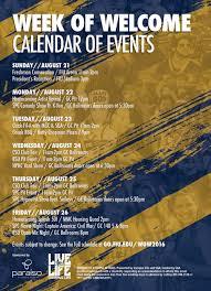 Fiu Campus Map Fall 2016 Week Of Welcome Mmc Umbrella