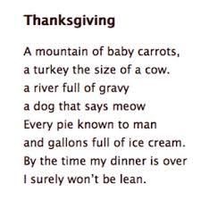 thanksgiving poem betterlesson