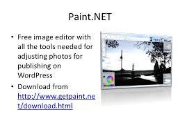 website image editing tutorial wordpress paint net and powerpoint