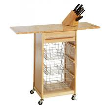 origami folding kitchen island cart with 4 wheels steel origami