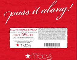macy s 25 friends family sale the limerick