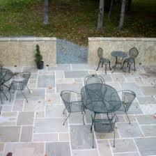 elegant natural slate stone patio design ideas for home patio