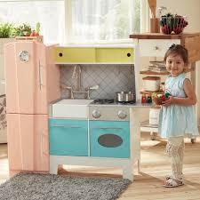 Teamson Vanity Teamson Kids Playful Bubble Gum Wooden Play Kitchen U0026 Reviews