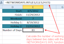 excel days360 function how to count days between dates