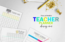 free teacher planner template free teacher binder printables over 25 pretty planning templates free teacher binder printables