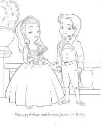 learning fun disney sofia princess coloring