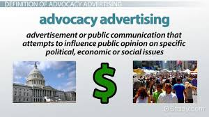 design definition in advertising advocacy advertising definition exles video lesson