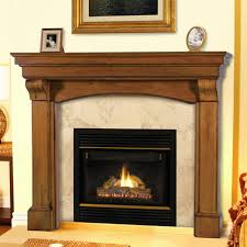 Distressed Wood Fireplace Surround Wood Fireplace Mantels For Fireplaces Surrounds Design The Space