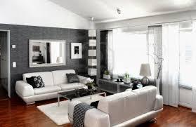 salon gris taupe et blanc conception décoration salon gris et blanc