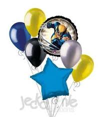 birthday balloons for men 9 best everything wolverine images on birthday party