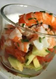 cuisiner les avocats salade avocats crevettes et tomates