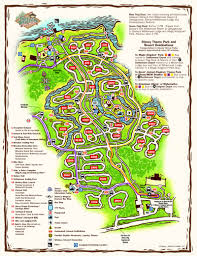 Disney Florida Map by Disney Resorts Fort Wilderness Lodge