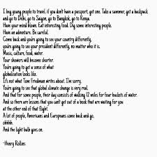 Henry Rollins Quotes Love by Travel U2013 Kameron Abilla