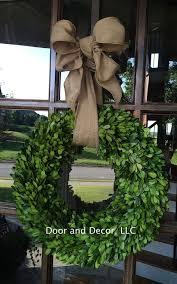 Target Wreaths Home Decor Best 25 Boxwood Wreath Ideas On Pinterest Stair Wall Decor