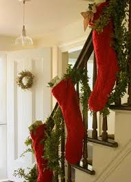 Decorating Banisters For Christmas 22 Beautiful Christmas Decorations For Stair Ideas Home Design